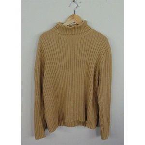 J. Crew Mens XL Long Sleeve Turtleneck Sweater